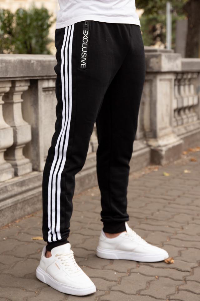 Pantaloni Grosi Bumbac Exclusive Negru
