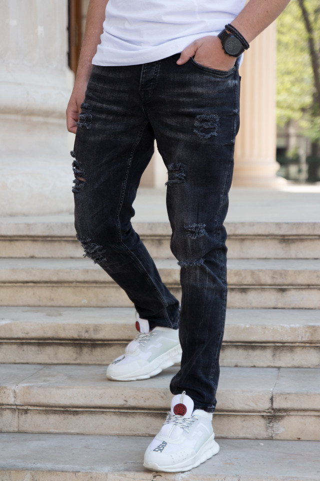Pantaloni Slim V1032