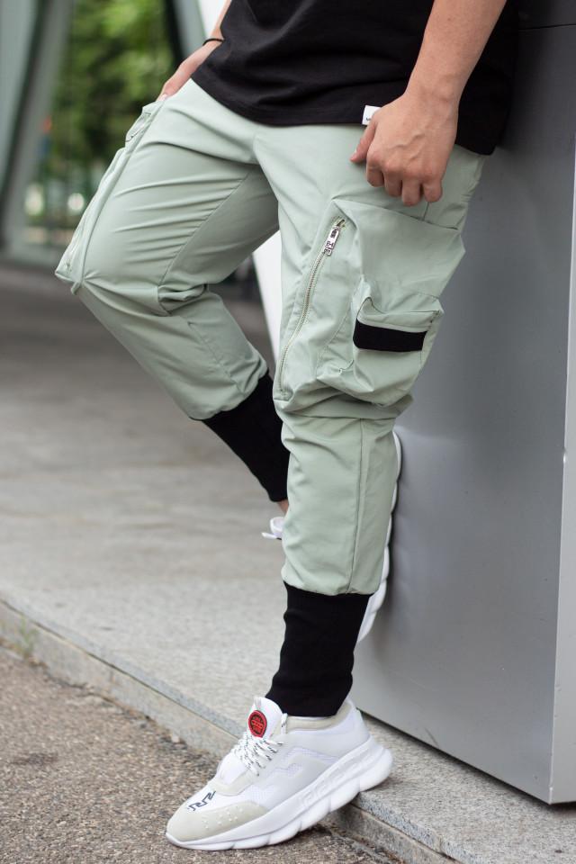 Pantaloni Wick Verde Mint