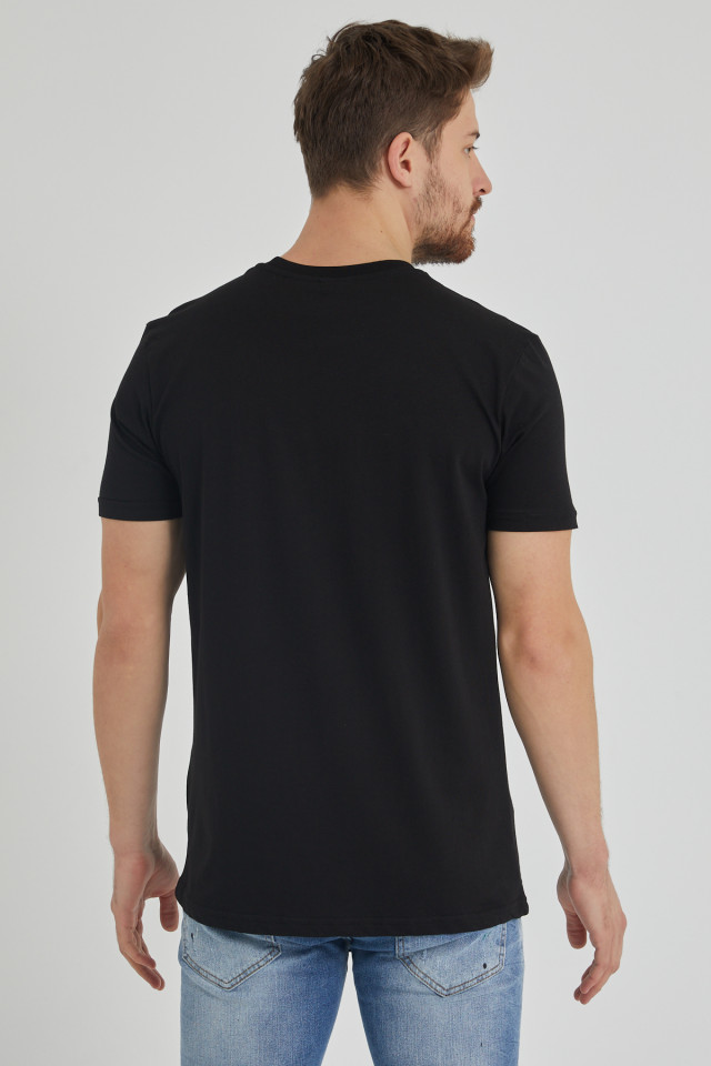 Tricou BREEZY Keep on Rising Negru