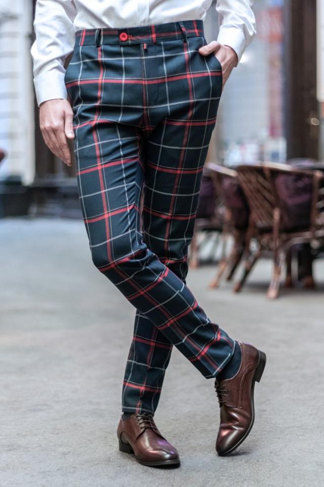Pantaloni Eleganti Mansfield Bleumarin HX