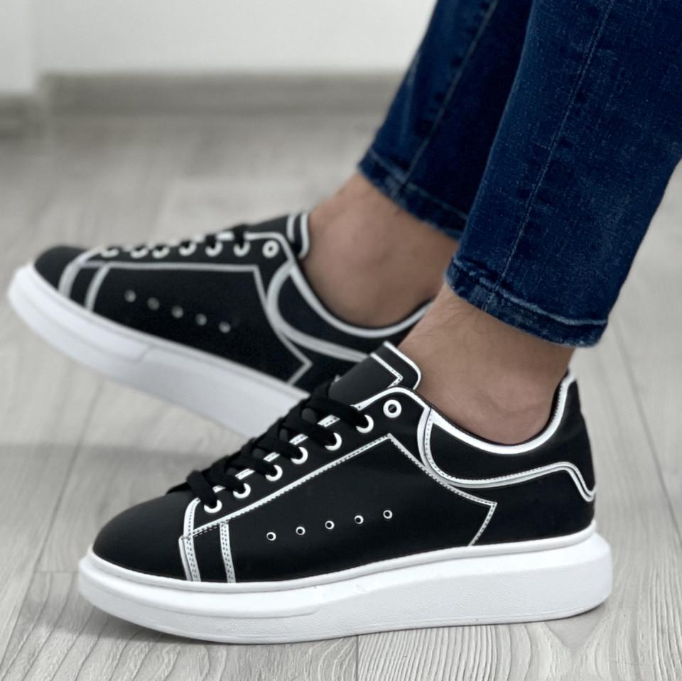 Adidas MQ Striped Negru-Alb