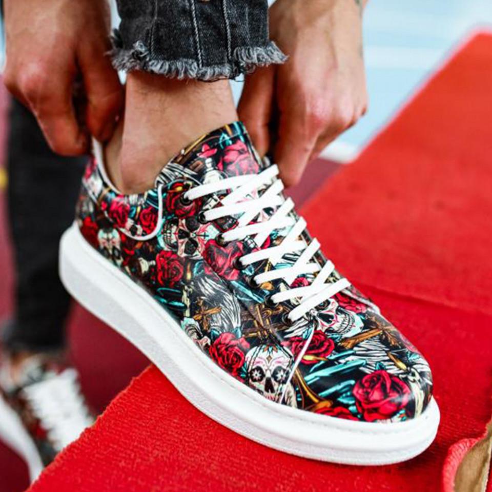Adidasi Knack Rose and Skull
