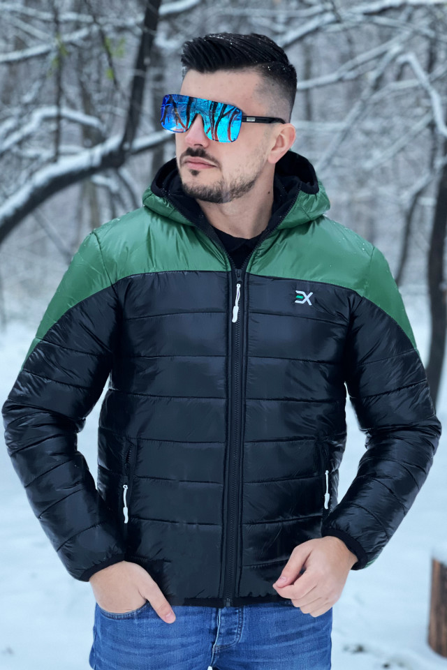 Geaca Exclusive Viper Kaki-Negru