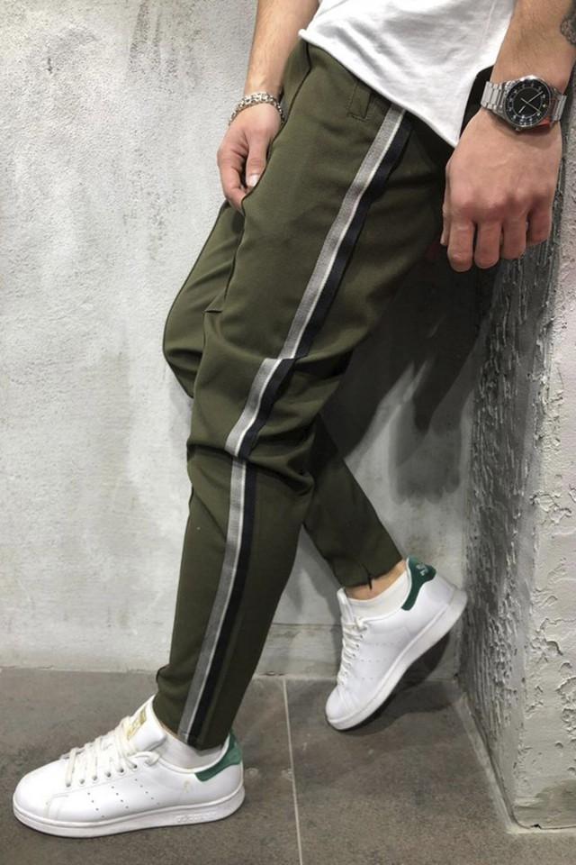 Pantaloni Casual Kaki COD : P1030