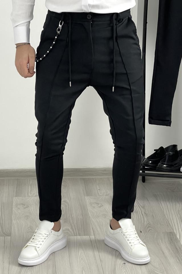 Pantaloni Smart Casual K546 Negru