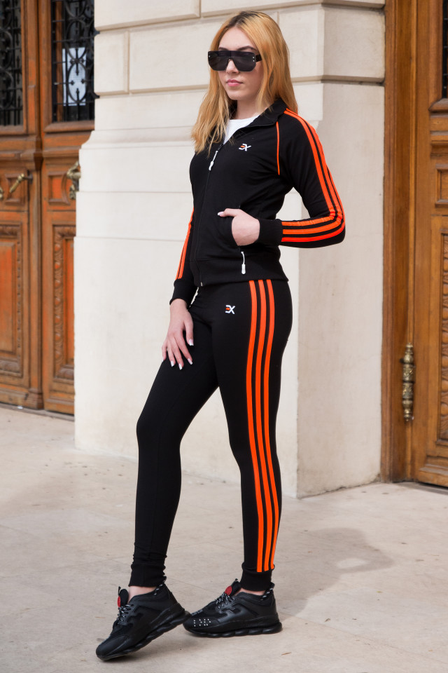 Trening EX Stripe Negru-Orange