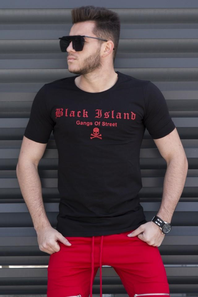 Tricou Black Island Negru
