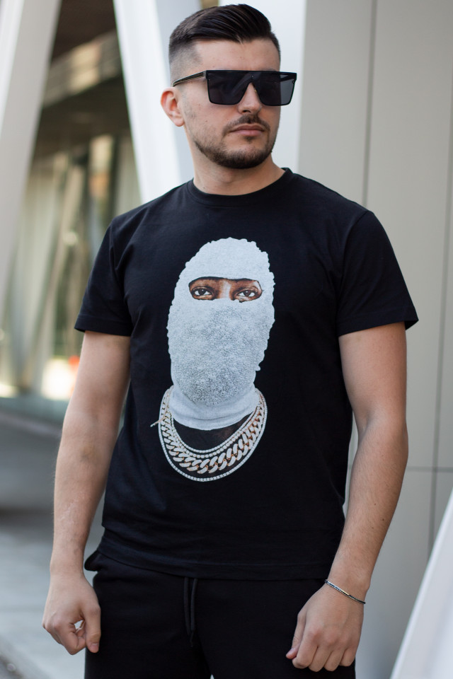 Tricou Mask X Negru