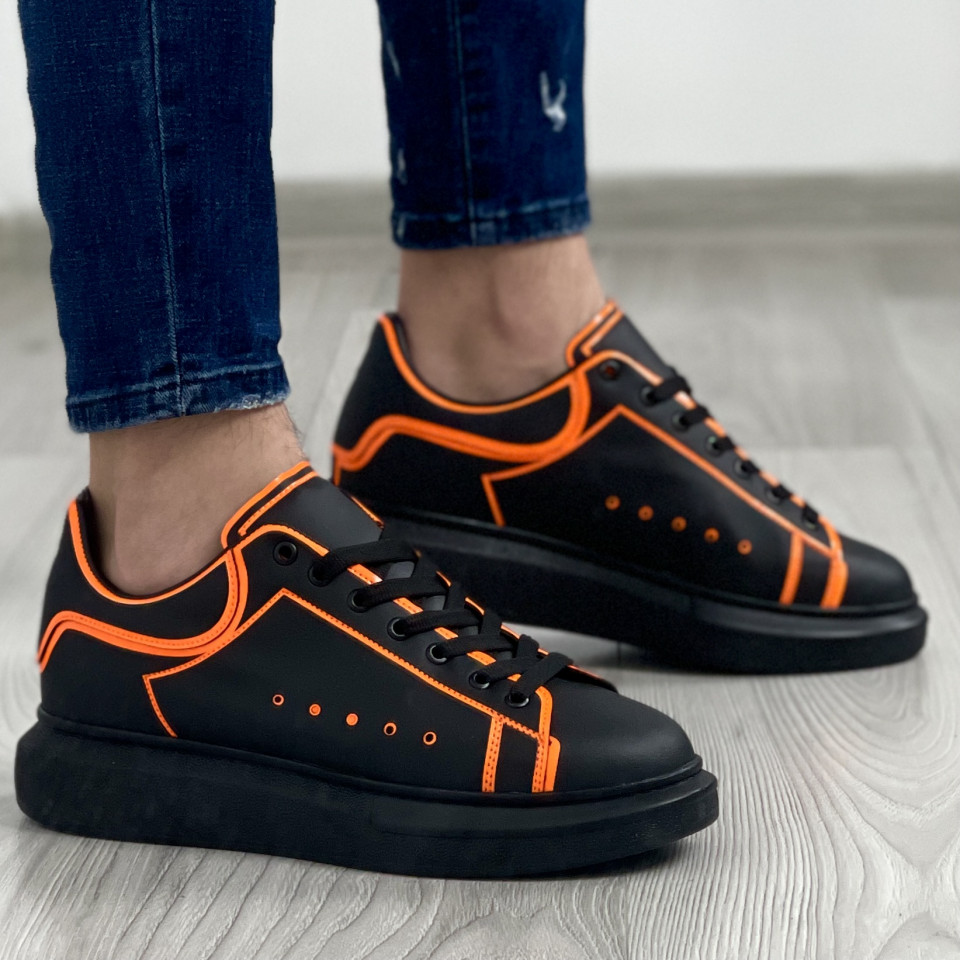 Adidas MQ Striped Negru-Orange