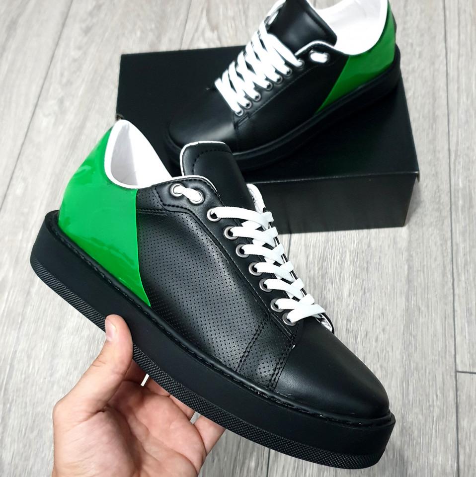 Adidasi Y2K Negru Verde