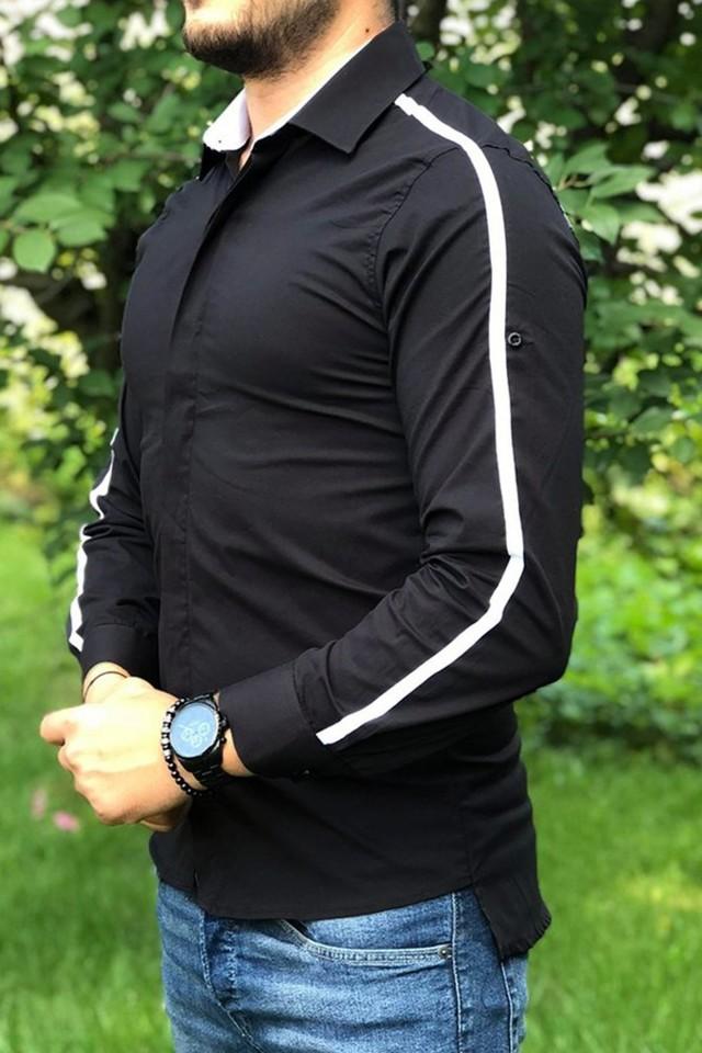 Camasa Stripe Neagra
