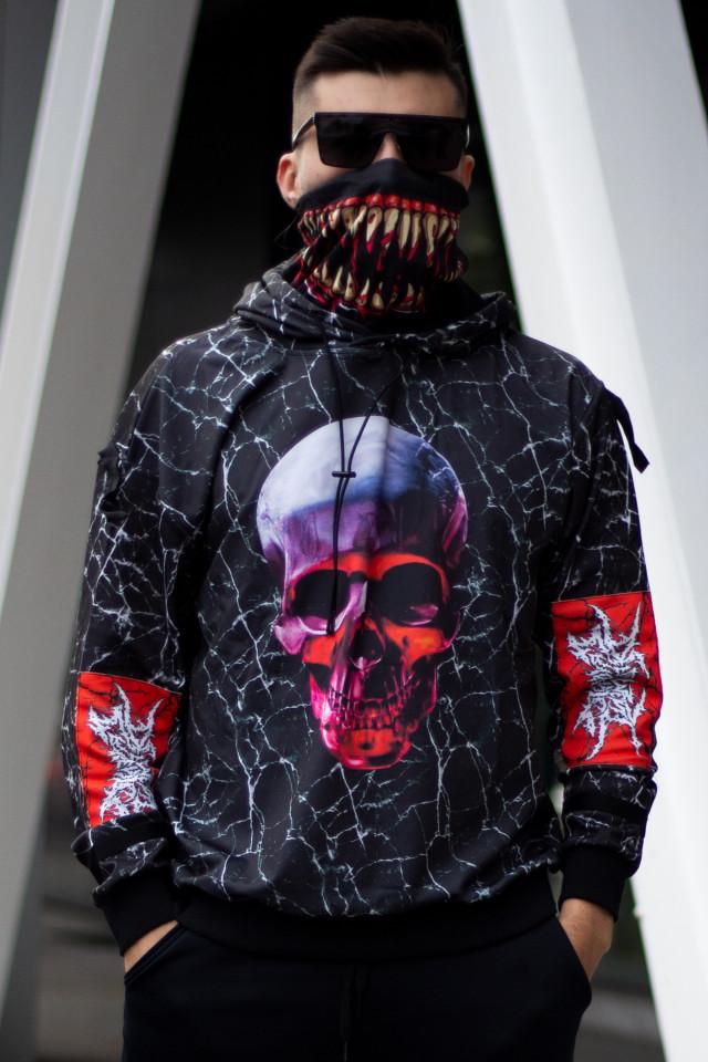 Hanorac Venom Skull cu masca