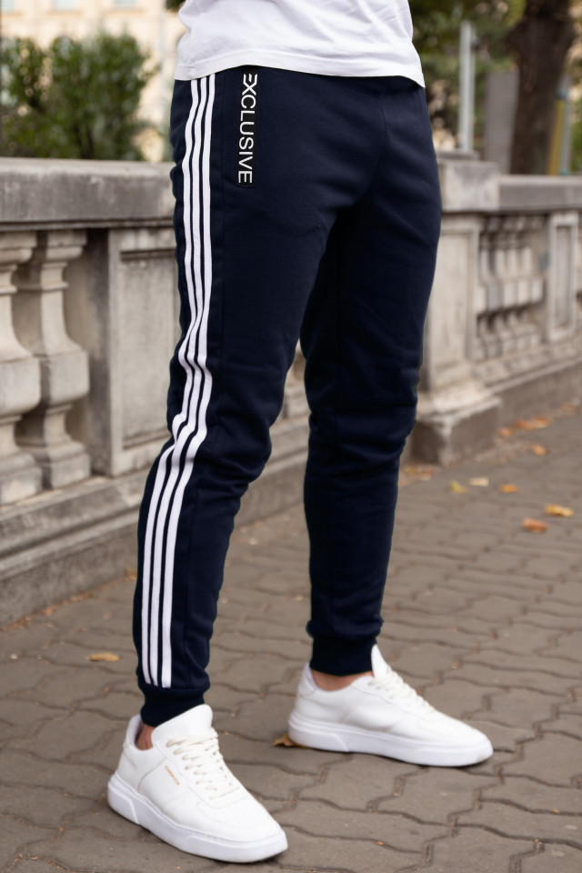 Pantaloni Grosi Bumbac Exclusive Bleumarin