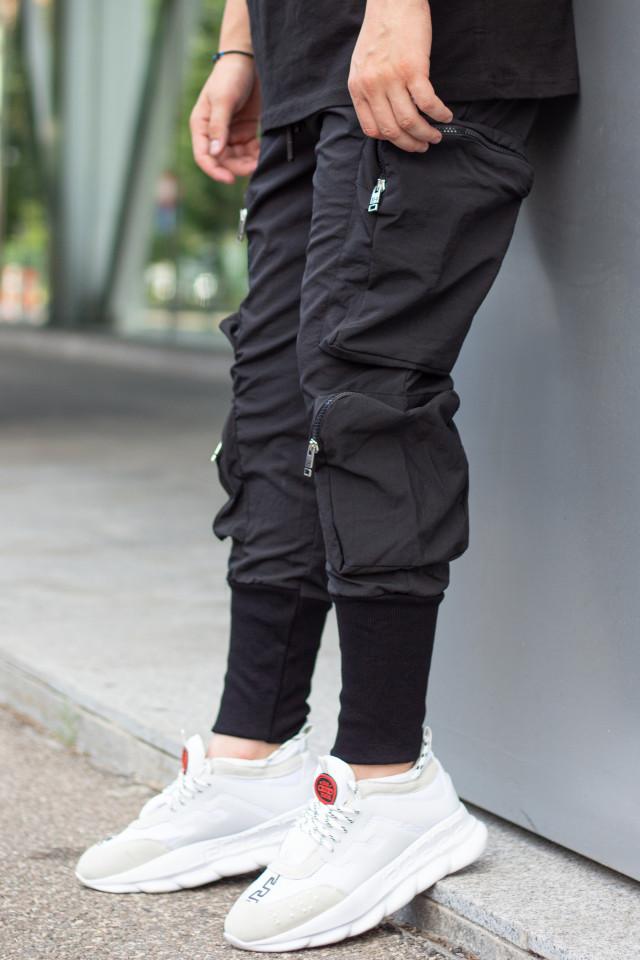 Pantaloni Uzzi Negru