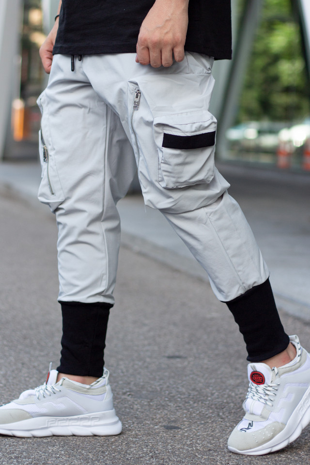 Pantaloni Wick Gri