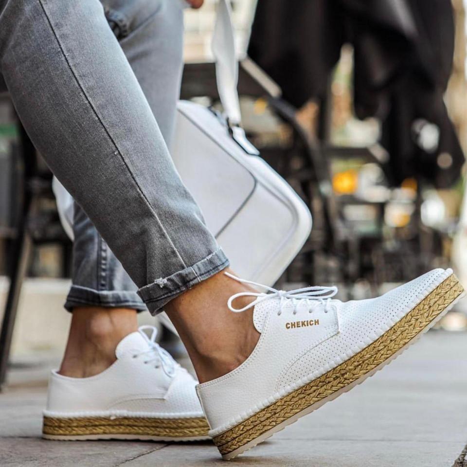 Pantofi de Vara Summer Vibe 2021 Alb