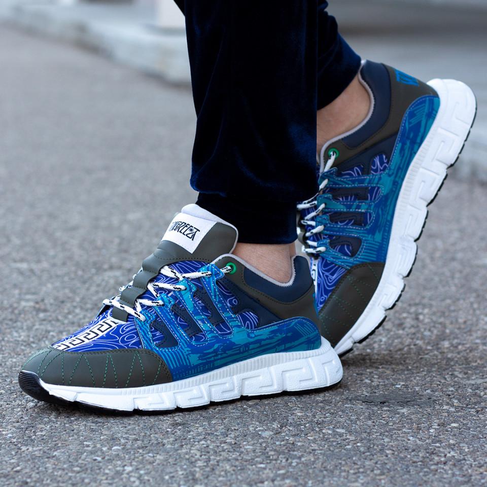 Sneakers Greka Albastru