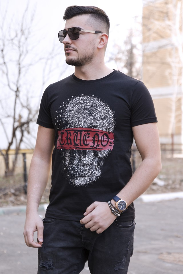 Tricou Trueno Blindfold Skull
