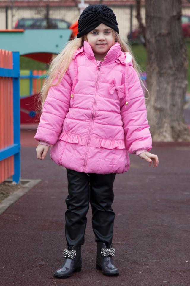 Geaca Fetite Barbie Pink
