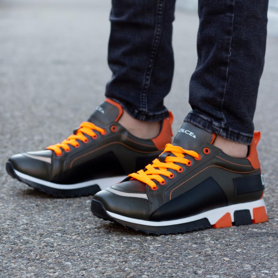 Adidasi Dolce Orange-Kaki