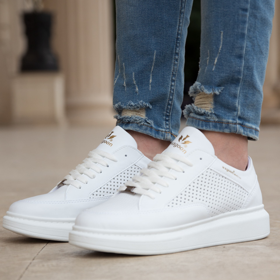Adidasi Vice Alb