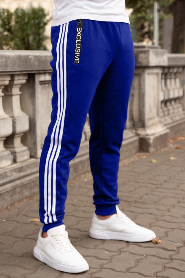 Pantaloni Grosi Bumbac Exclusive Albastru