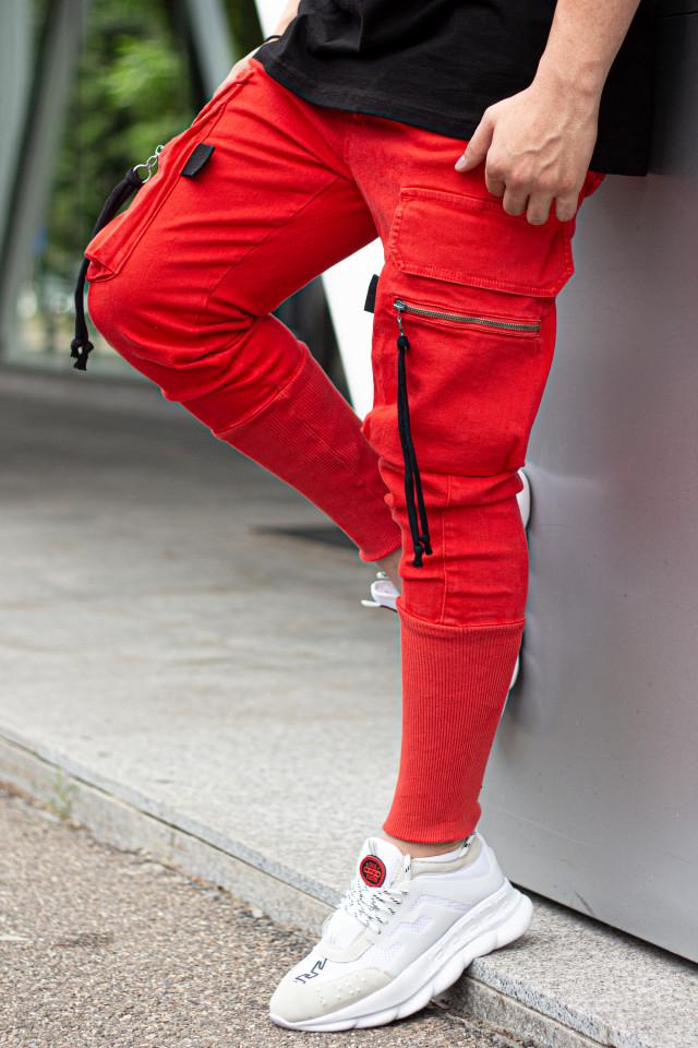 Pantaloni Pocket Rope orange