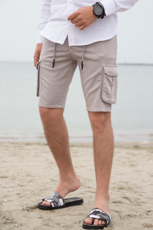 Pantaloni Scruti SMW Gri cod 3176