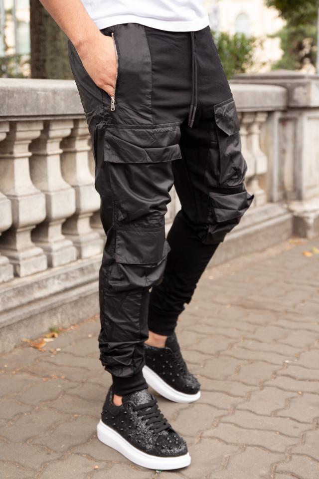 Pantaloni tur lasat Side Y319