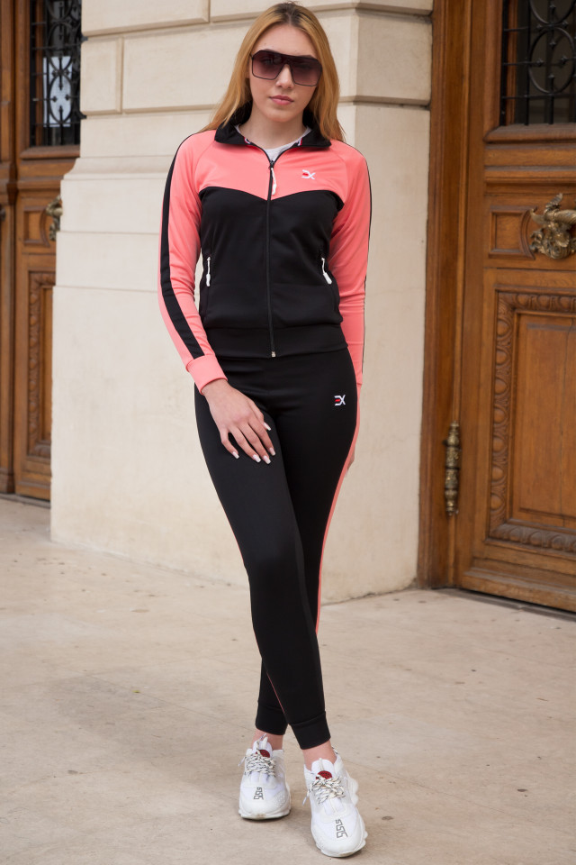 Trening Dama Exclusive Roz Somon-Negru