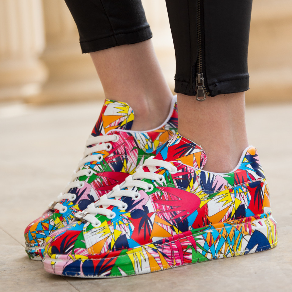 Adidasi Splash Colors