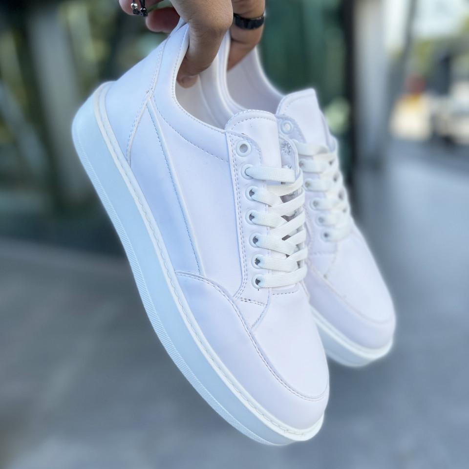 Adidasi Clean ULTRA Alb