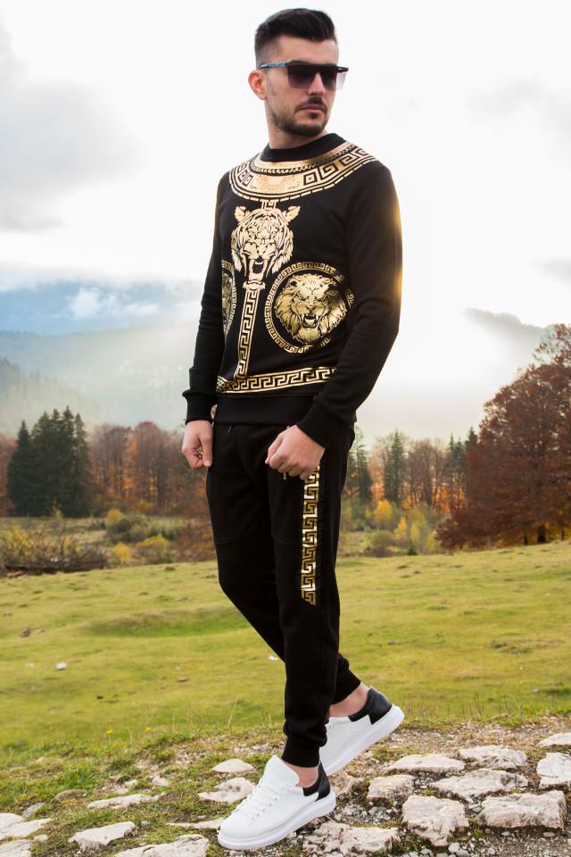 Compleu Royal Tiger Negru Auriu