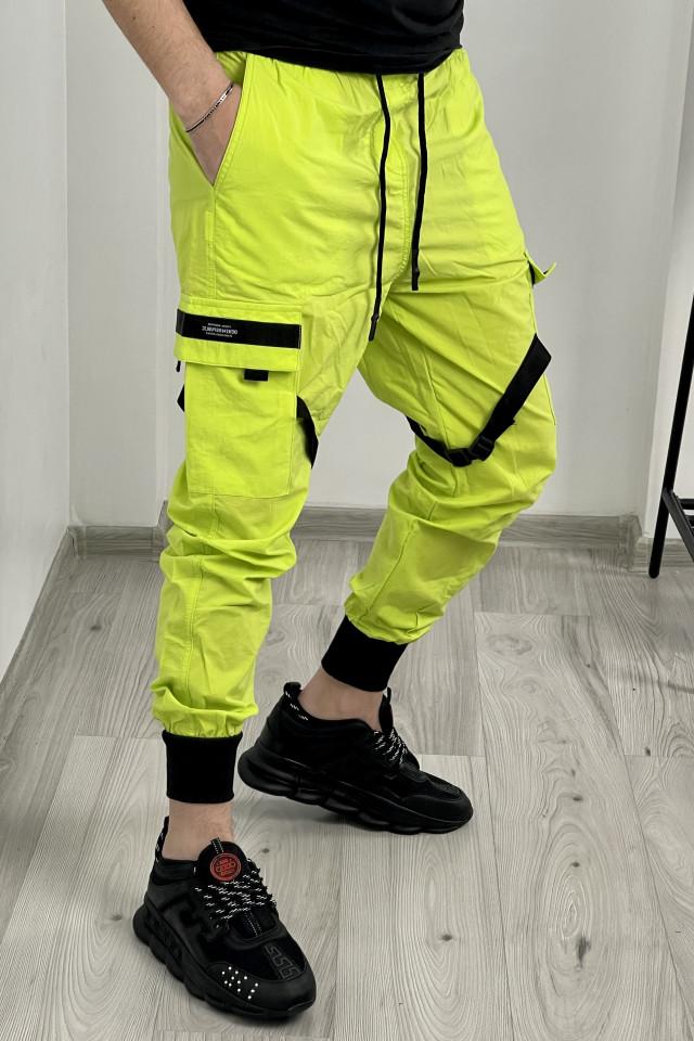 Pantaloni DR Galben Neon