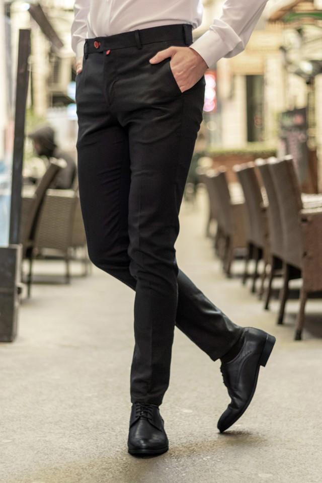 Pantaloni Eleganti Mansfield Negru