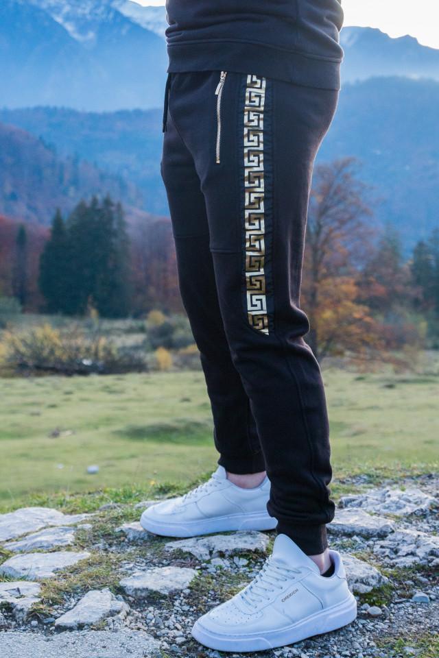 Pantaloni Royal Negru