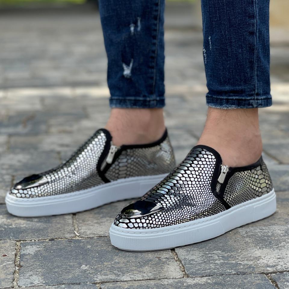 Pantofi sport SYP Argintiu-Alb