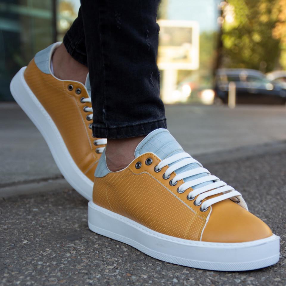 Adidasi Clean Galben Alb