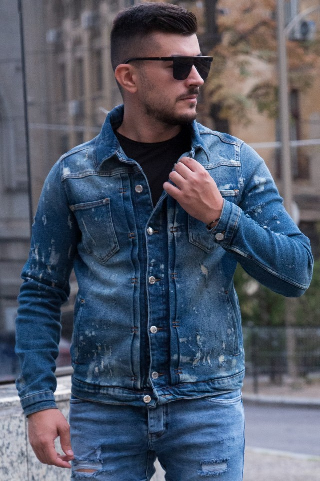 Geaca Denim Rebel