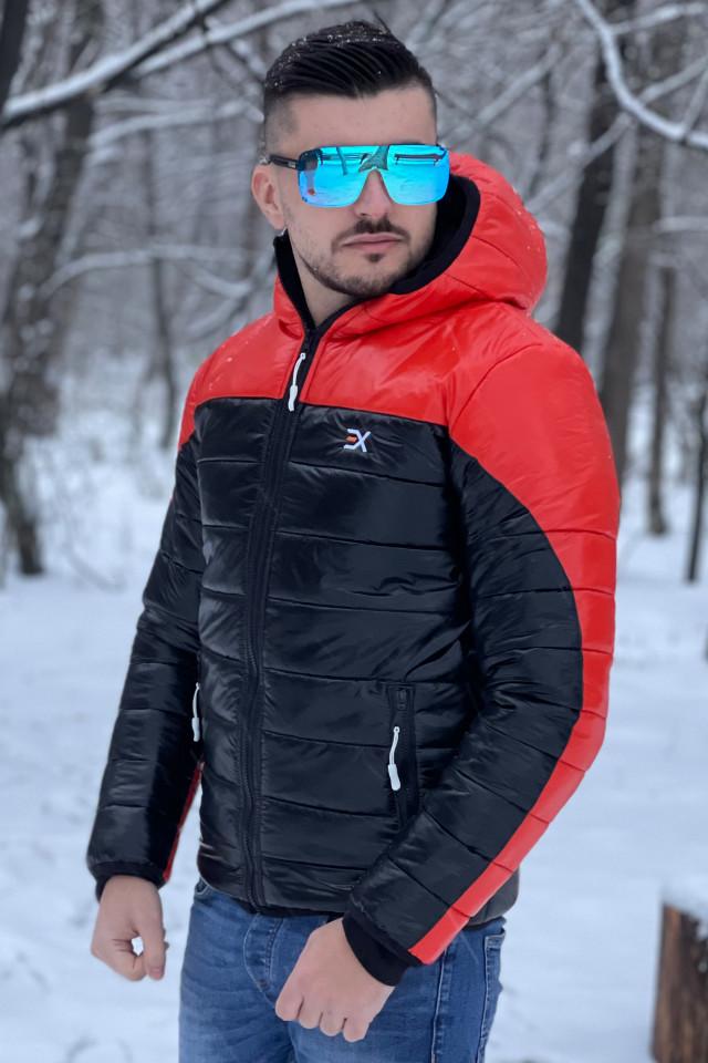 Geaca Exclusive Viper Rosu Corai-Negru