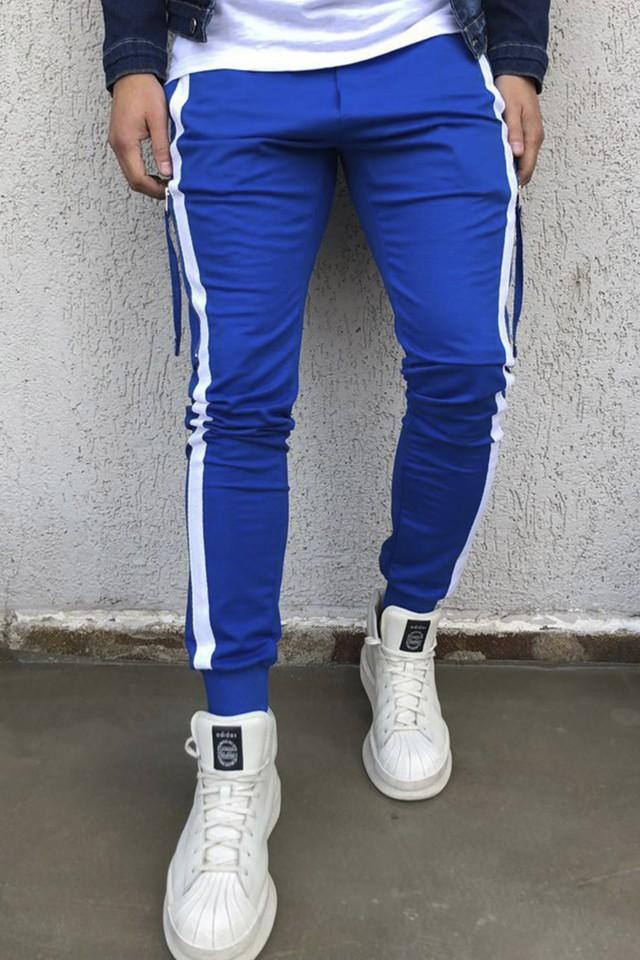 Pantaloni Black Island Albastru