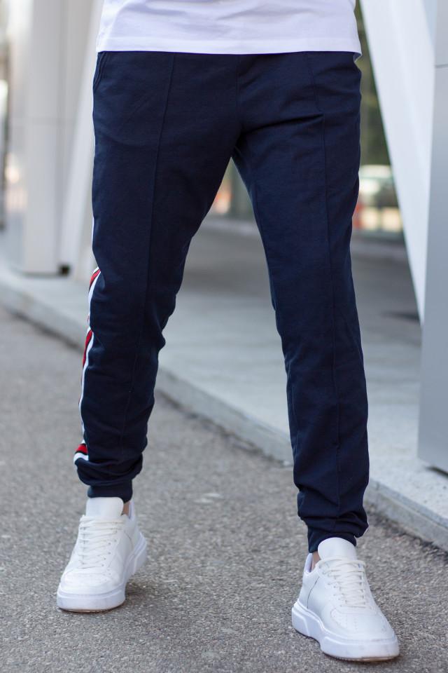 Pantaloni EX Bumbac CMZ Bleumarin
