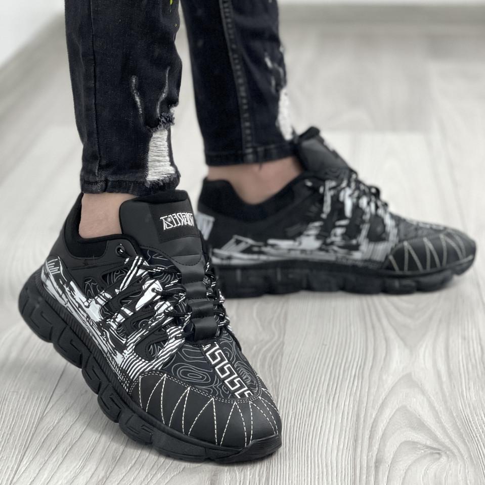 Sneakers Greka Negru-Alb