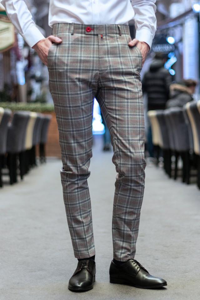 Pantaloni Eleganti Mansfield Gri BE