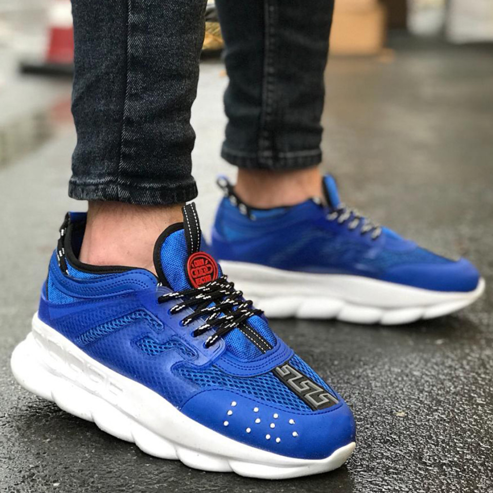 Adidasi Chain Albastru