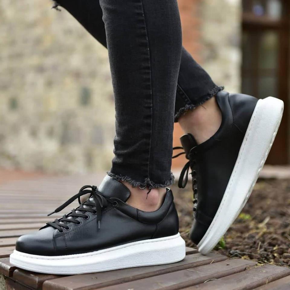 Adidasi VIP Negru-Alb
