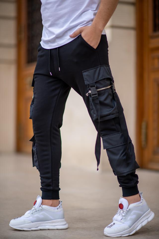 Pantaloni EX Pocket Negru