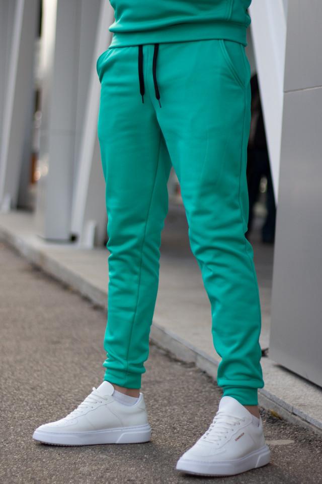 Pantaloni Flausati EX Verde Menta