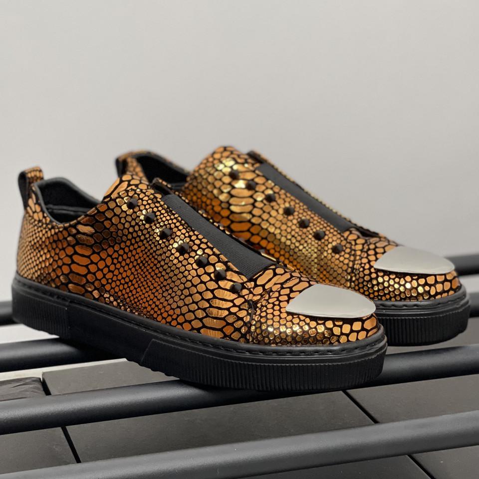 Pantofi sport LST Auriu Negru